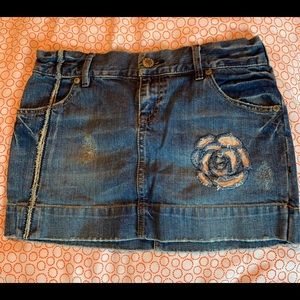 Special Edition Old Navy Jean Mini Skirt